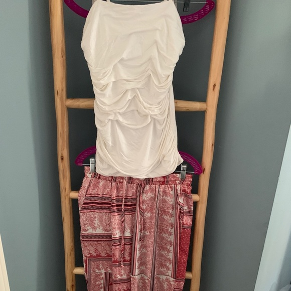 Woman's two piece outfit